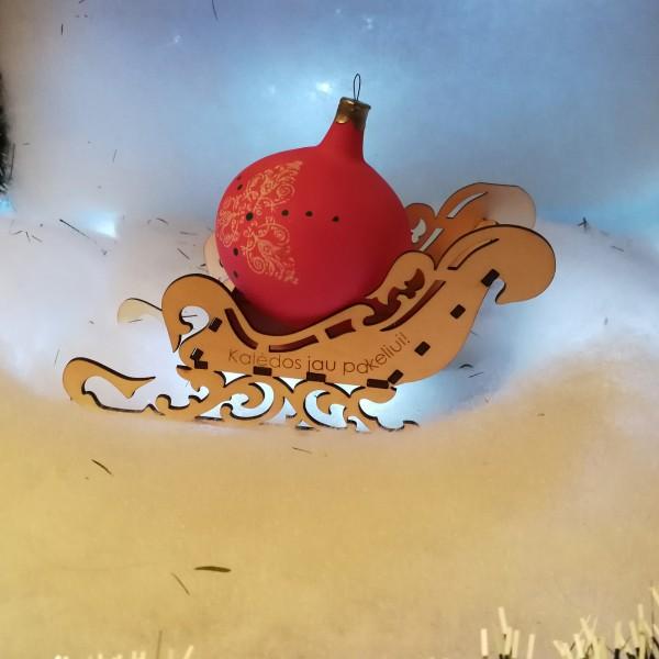 Kalėdų senelio rogės