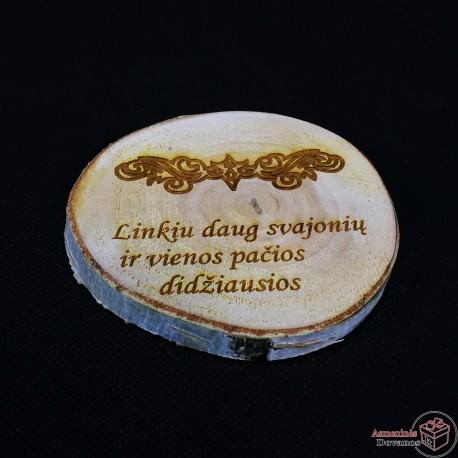 Padėkliukas iš Lietuviško beržo