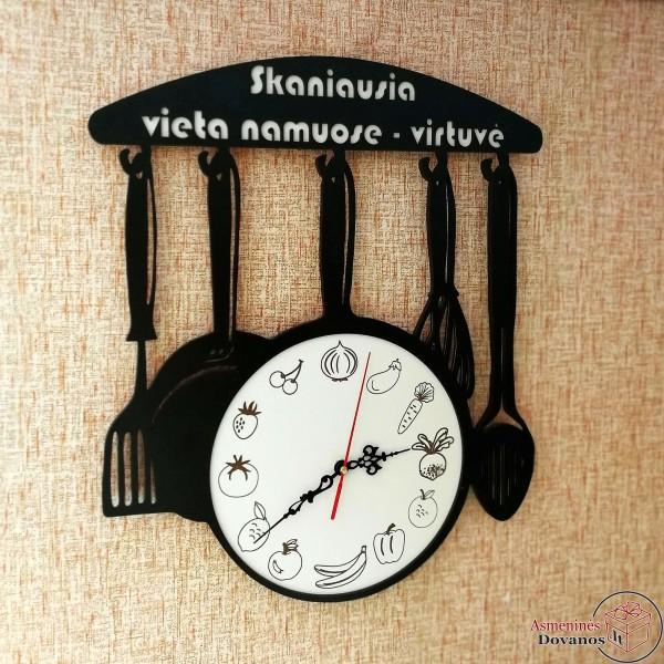 """Asmeninis sieninis laikrodis """"Keptuvė"""""""
