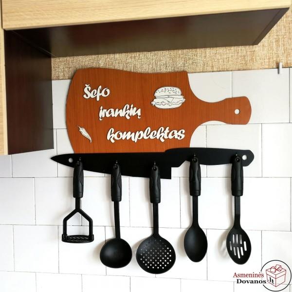 Virtuvės įrankių kabykla