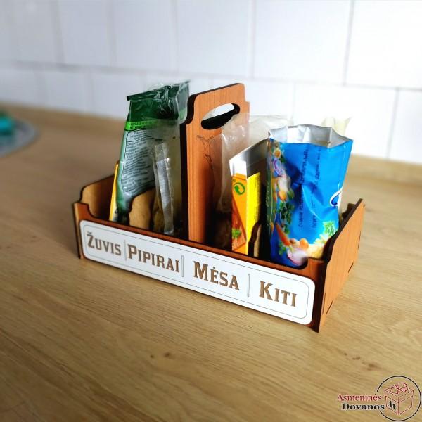 Prieskonių dėžutė su rankenėle