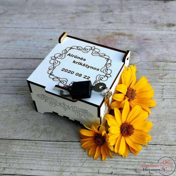 Dėžutė su spynele