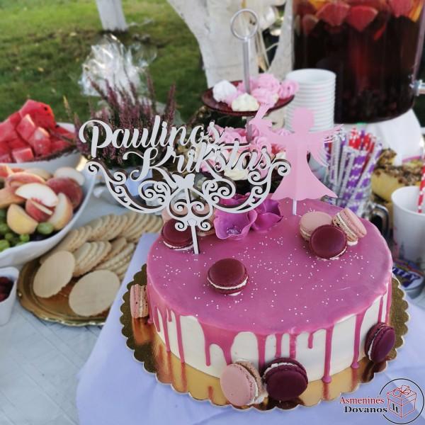 Torto papuošimai įvairioms progoms