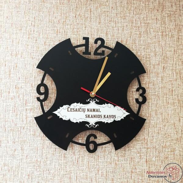 """Asmeninis sieninis laikrodis """"Priminimas"""""""