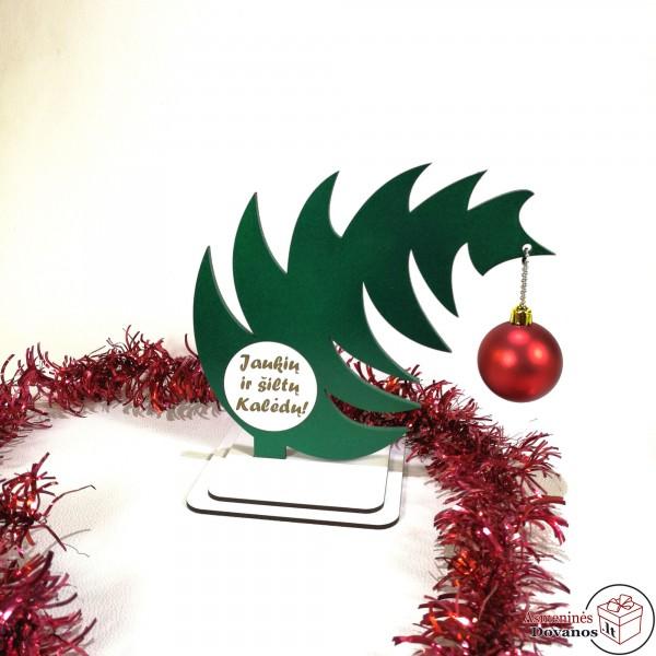 Pavirtusi Kalėdinės eglutės imitacija