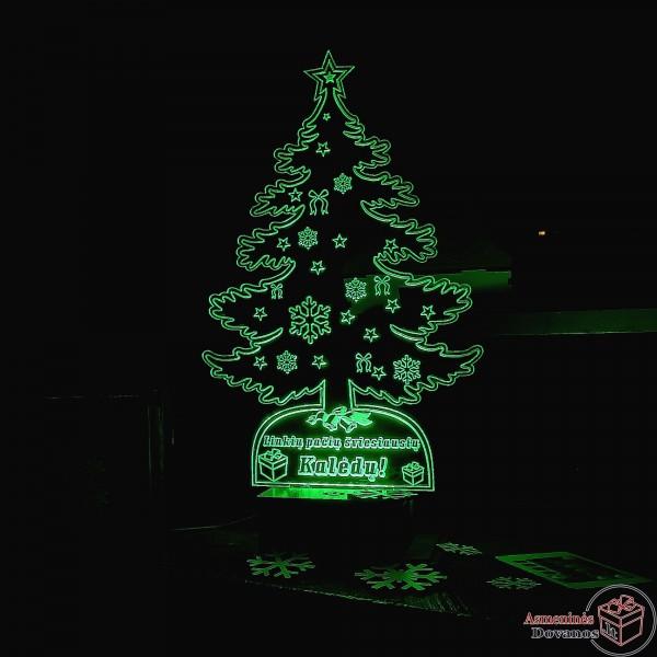 LED Lempa - eglutė