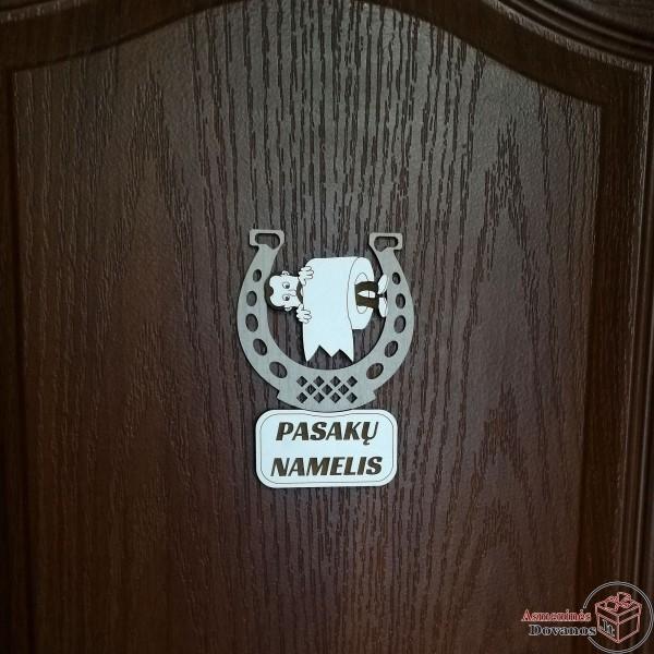 """Informacinis ženkliukas ant durų """"Popierius"""""""