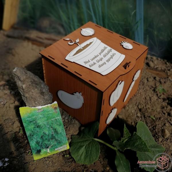 Dėžutė sėkloms
