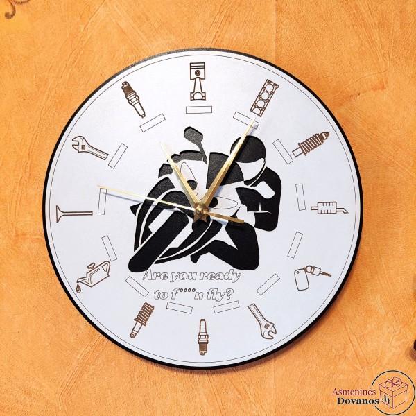 """Asmeninis sieninis laikrodis """"Britva"""""""