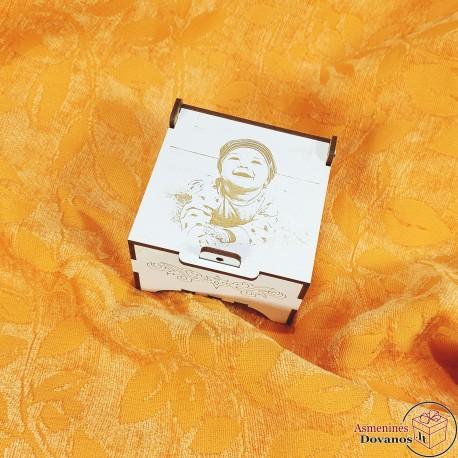 Dėžutė su nuotrauka (9 x 9)