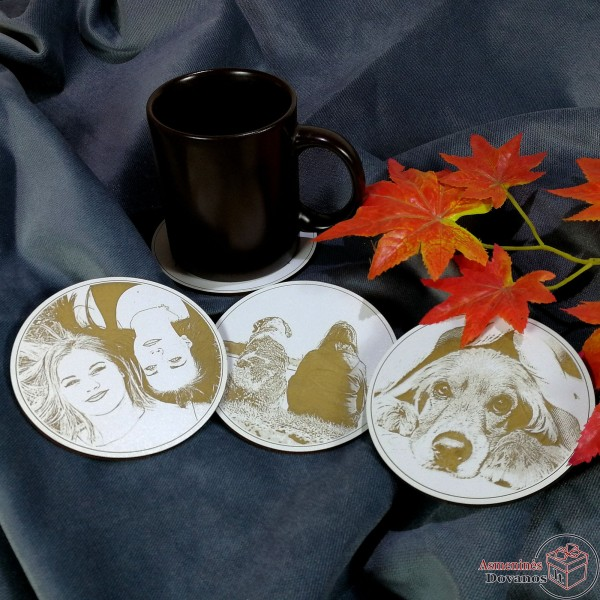 Padėkliukai puodeliui (su nuotrauka)