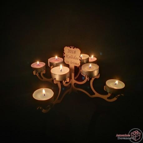 """Žvakidė """"Vijoklis"""""""