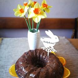 Velykiniai papuošimai įsmeigiami į tortą, pyragą ar kt.