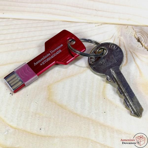 USB Raktas - pakabukas