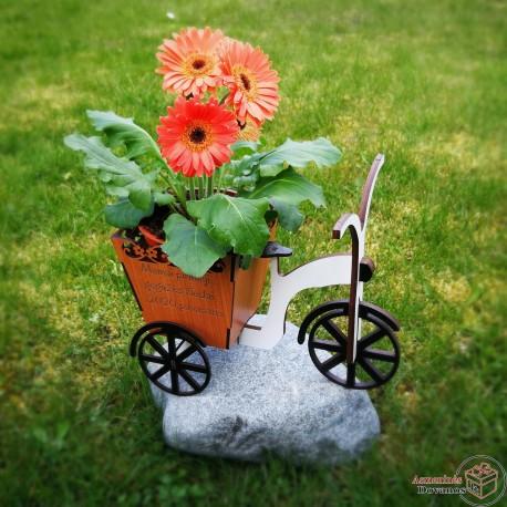 """Gėlės vazono dekoracija - """"Žiburys"""""""