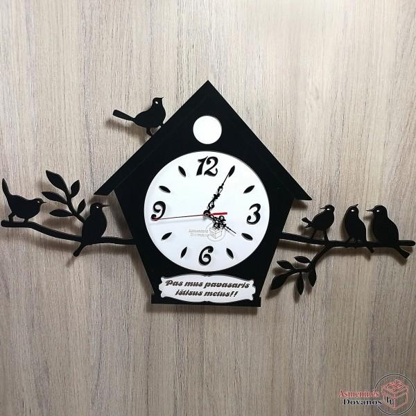 """Asmeninis sieninis laikrodis """"Pavasaris"""""""