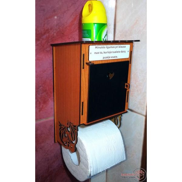 """Laikiklis tualetiniam popieriui """"Minutė"""""""